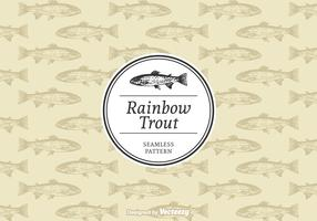 Free Rainbow Trout Vector Pattern