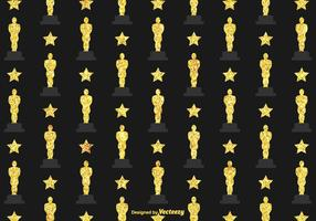 Free Oscar Statuette Vector Background