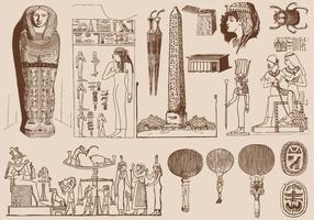 Brown Egypt Art