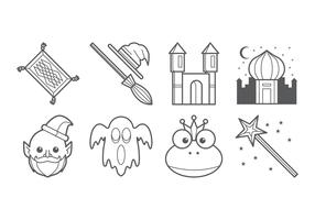 Free Fairy Tales Icon Vector