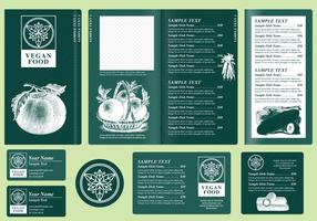 Vegetarian Menu Templates