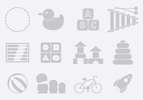 Gray Toy Icons