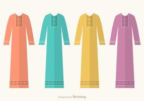 Free Abaya Vector Set
