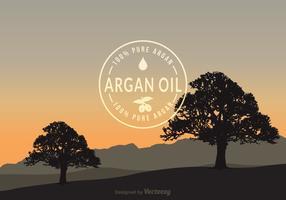 Free Argan Vector Background