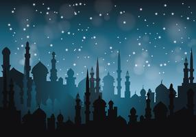 Free Arabian Nights Vector Illustration