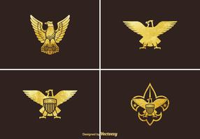 Free Golden Eagle Vector Set
