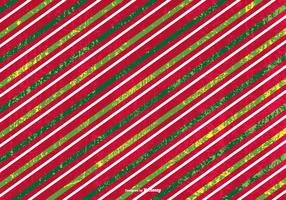 Grunge Striped Christmas Background