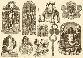 Vintage India Art