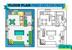 Floorplan Free Vector Pack