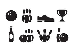 Free Bowling Icon Set
