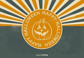 Retro Halloween Illustration