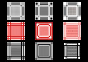 Keffiyeh Pattern Vector