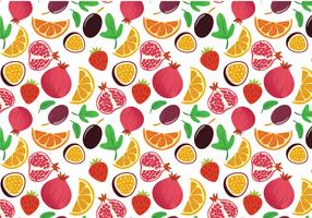 Free Fruit Pattern Vectors