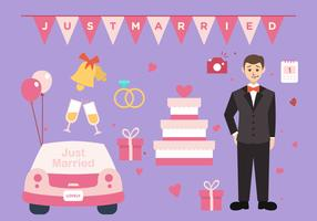 Groom Wedding Vector Pack