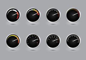 Tachometer Vector