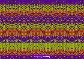 Halloween Colored Tiles Background Vector