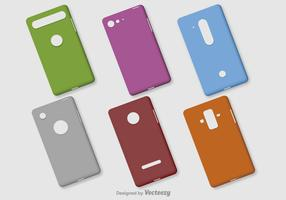 Blank Phone Vector Cases