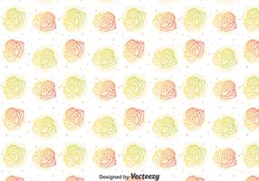 Colorful Protea Flower Pattern