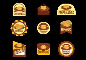 Empanadas Vector Emblems