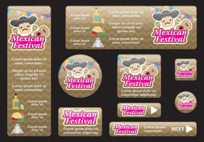 Mexican Festival Banners
