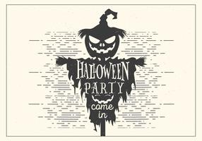 Dark Halloween Party Vector