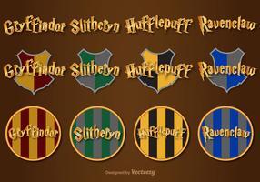 Hogwarts Vector Lettering