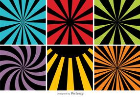 Colorful Abstract Backgrounds Set