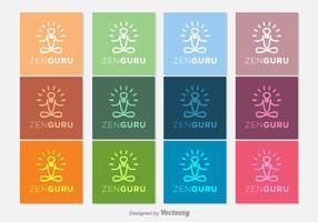 Gurú Zen Vector Icons
