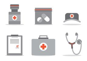 Medical Care Vector Set