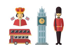 Queen Elizabeth Flat Vector