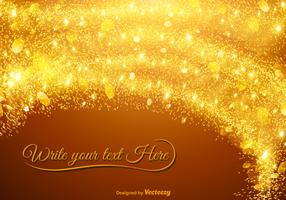 Vector Abstract Star Dust Template