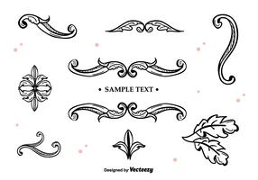 Hand Drawn Vector Ornaments
