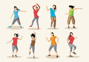 Free Zumba Dance Vector