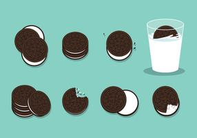 Free Oreo Cookies Vector