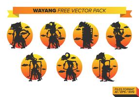 Wayang Free Vector Pack