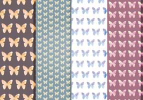 Vector Butterflies Patterns