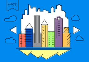 Free Vector City Illustration