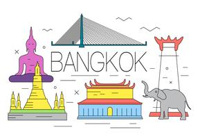 Free Bangkok Illustration