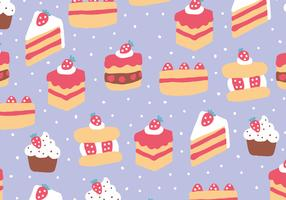 Strawberry Cakes Pattern