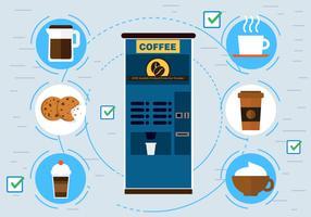 Free Vector Coffee Machine