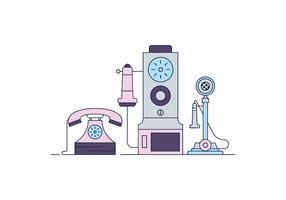 Teléfonos Gratis Vector