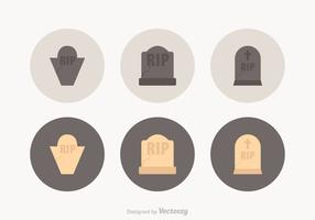 Free Tombstone Vector Icons