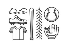 Baseball Vector Kit