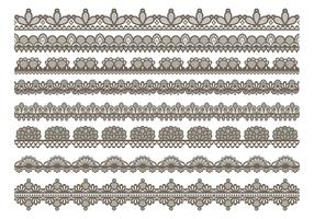 Lace Trim Icons
