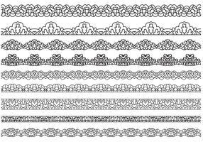 Free Lace Vectors