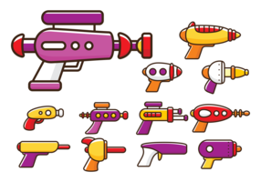 Laser Gun Cartoon