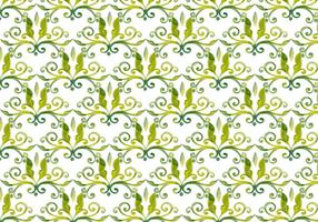 Olive Green Vector Watercolor Royal Background