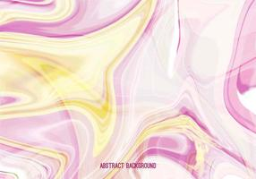 Free Vector Pink Yellow Marble Background