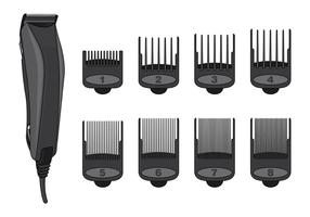 Vector Of Hair Clippers