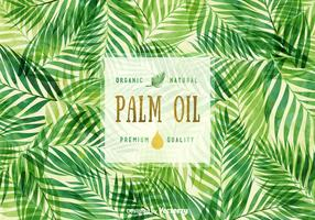 Free Palm Oil Vector Background
